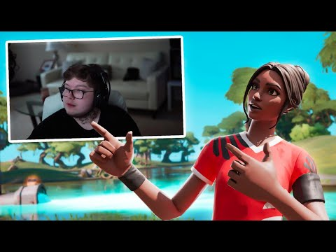 PLAYING FORTNITE For A $10,000 NECK TATTOO