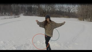 Snow Hooping with Stee Bax