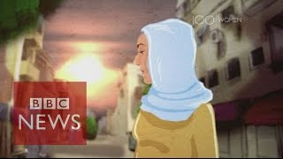 What is life like for women inside Raqqa? BBC News
