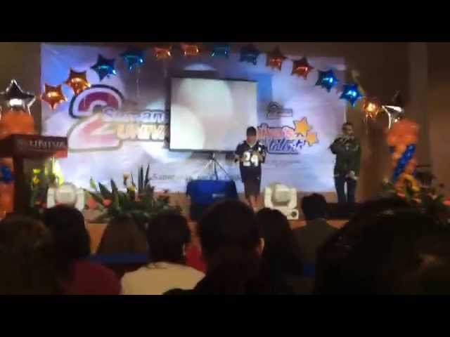 """Saturday Of Party By """"MC NULTY"""" @UNIVA´S GOT TALENT 12nov2014"""