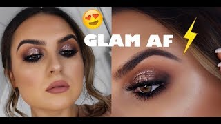 | GLAM AF | HOW TO APPLY LASHES EASILY |