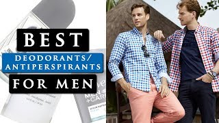 Best Deodorant/Antiperspirant For Men 2019 | TOP 3 FOR STAINS, SWEAT & SMELL