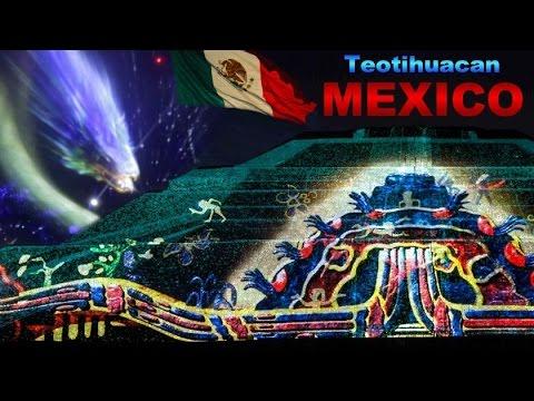 Espect culo de luces y danzas prehisp nicas zona Espectaculo de luces teotihuacan 2018