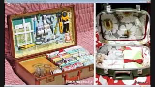 Реставрация и декор чемоданов