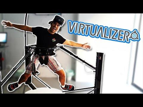 PROBAMOS EL VIRTUALIZER   Sistema de movimiento para Realidad Virtual