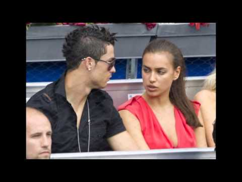 Irina vomit on Ronaldo Real Madrid