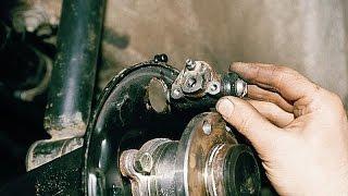 Тормозной цилиндр заднего колеса. Замена. ВАЗ 2110-2112.