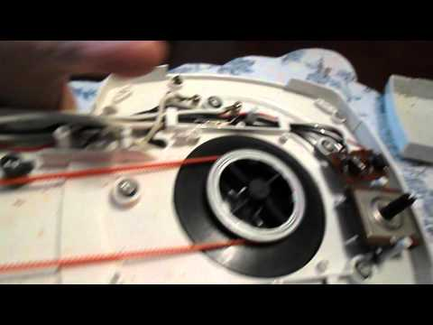 Changing belt on Jet Stream Oven