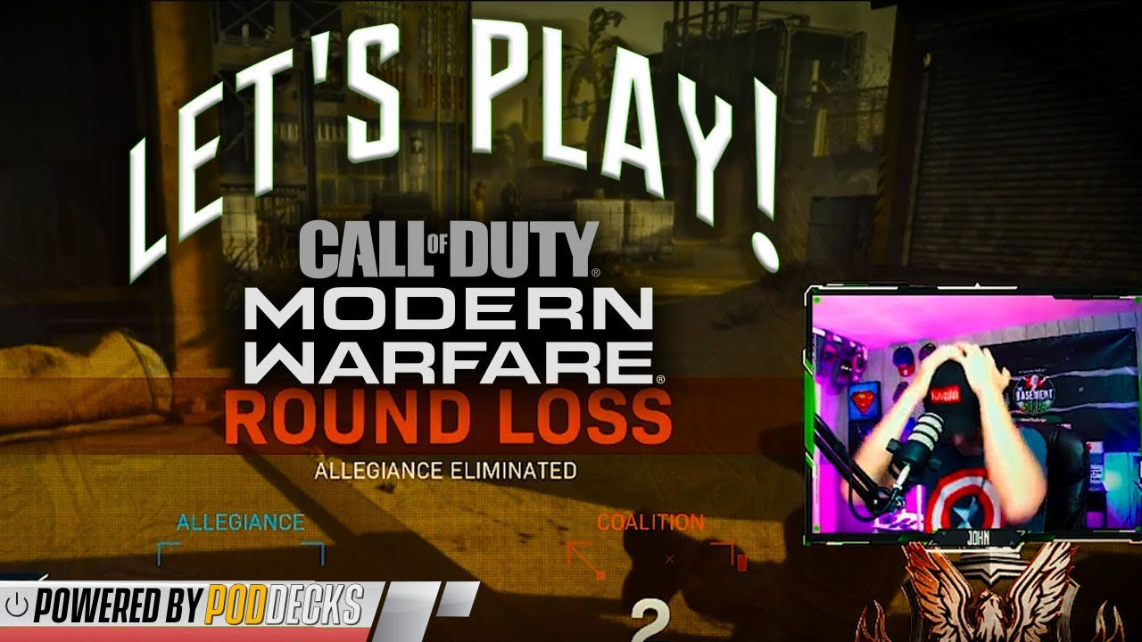 Let's Play: Call of Duty Modern Warfare!