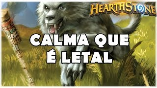 HEARTHSTONE - CALMA QUE É LETAL! (STANDARD MIDRANGE HUNTER)