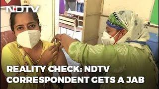 Covid-19 News: NDTV Correspondent Takes Vaccine In Delhi: Ground Report