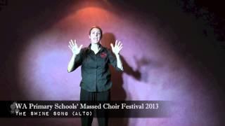 Massed Choir Festival 2013  The Swine Song Alto