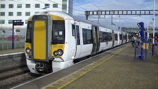 Trains and Planes at Luton Airport Parkway