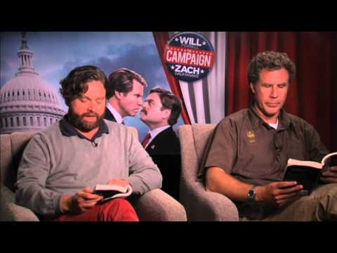 Will Ferrell & Zach Galifianakis Read '50 Shades of Grey' Travel Video