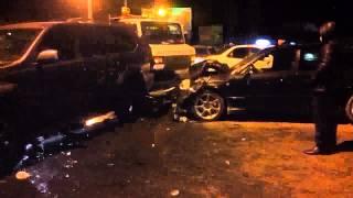 Ужасная авария в Кыргызстане 01.01.2015 все в шоке(Народ хочу вам рассказать про аварию в Новогоднюю ночь 01.01.2015 года в Кыргызстане на улице Ахунбаева пересеч..., 2015-01-02T20:12:02.000Z)