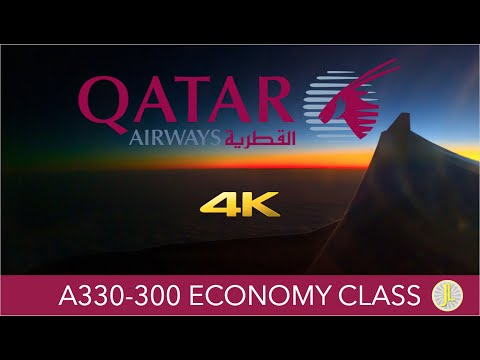 Qatar Airways A330 Berlin ✈ Doha ✈ Hong Kong Economy Class 4K Trip Report