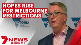 Hopes rise in Melbourne of restrictions easing after one new COVID case   7NEWS