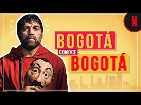 La Casa de Papel | Bogotá conoce Bogotá | Netflix
