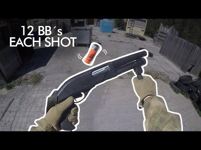 The Most Realistic Airsoft Shotgun