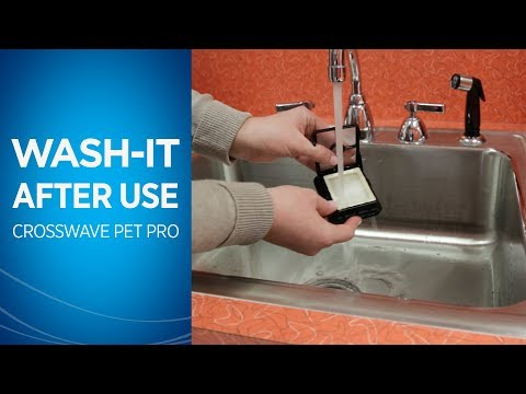 How to Clean Your CrossWave® Pet Pro After Use