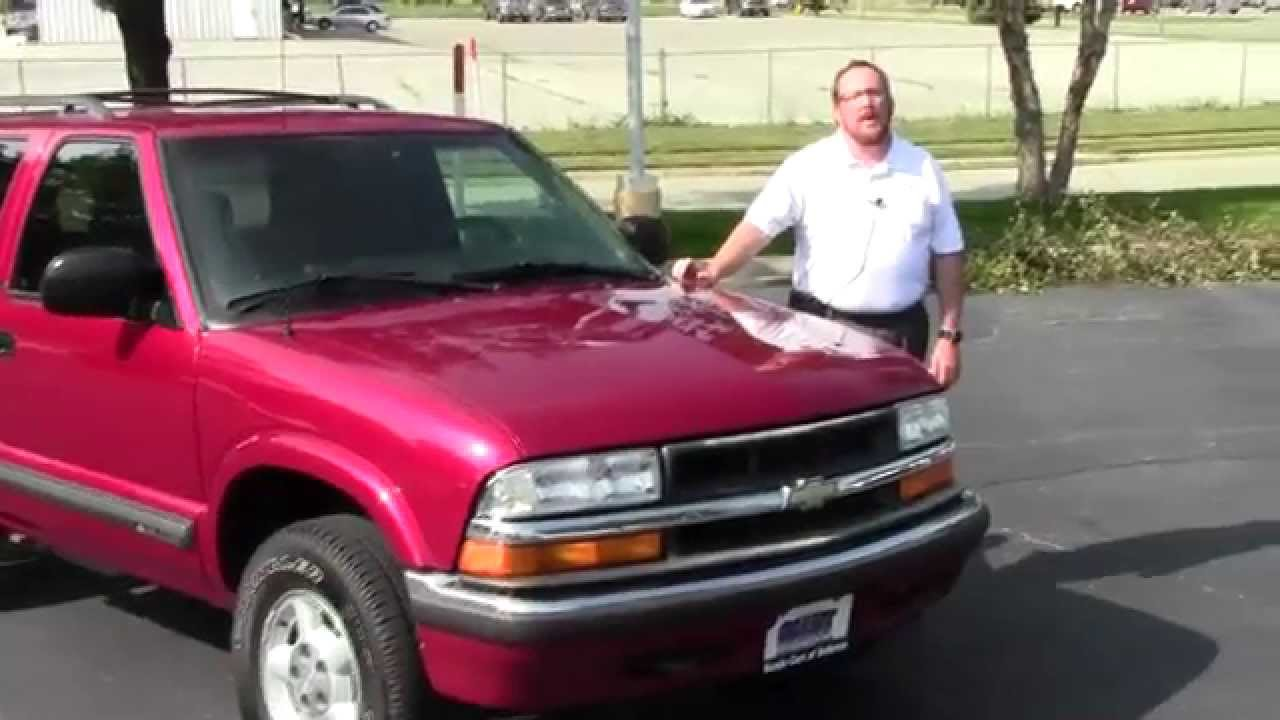 Used 2000 Chevy Blazer LS 4wd for sale at Honda Cars of Bellevue   an Omaha  Honda Dealer!