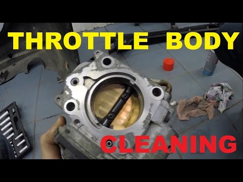 Throttle body cleaning and idle relearn 2007 Honda Civic 4D/5D  1.8 i-vtec R18A