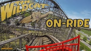 The Wildcat On-ride Front Seat (HD POV) Hershey Park