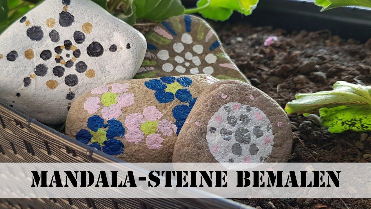 Mandala-Steine selbst bemalen