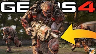 Gears of War 4 - Hammerburst Removed, Season 2 Rewards Weapon Skins, Armored Kantus Packs & More!