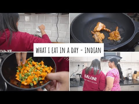 What I Eat In A Day : Easy, Healthy & Nutritious Meal Ideas | What I Eat In A Day- Indian thumbnail
