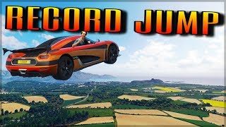 Biggest Jump in Forza Horizon 4 | NEW Longest Airtime Record!!