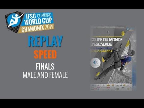 IFSC Climbing World Cup Chamonix 2014 - Speed - Finals - Men/Women