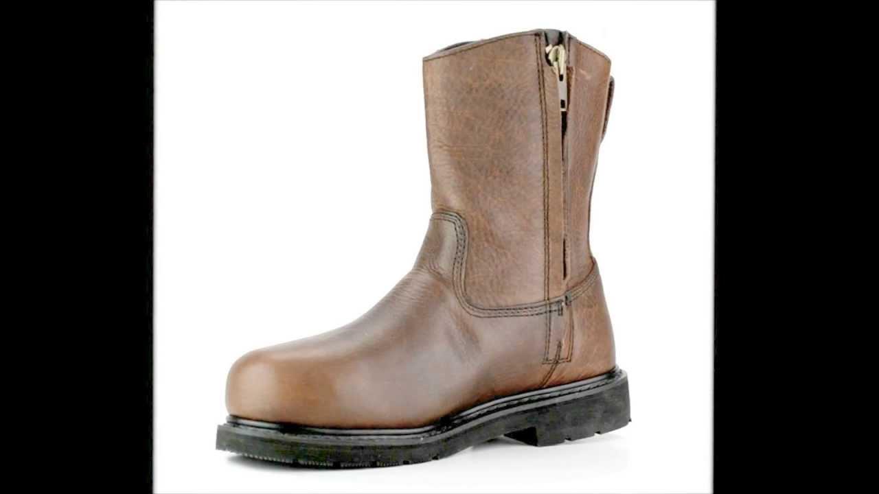 Men's Thorogood 804-4132 Steel Toe Wellington Metguard Side Zipper ...