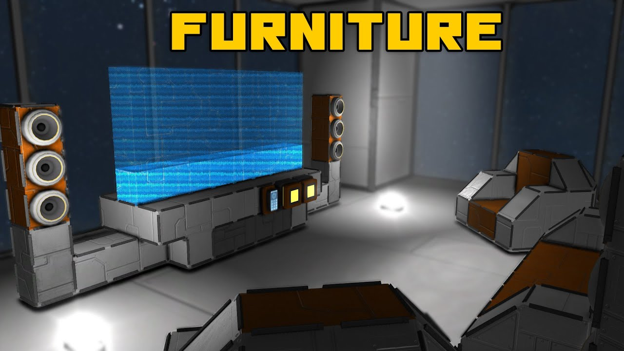 Space Engineers Furniture100 Stock Interior Design Inspiration
