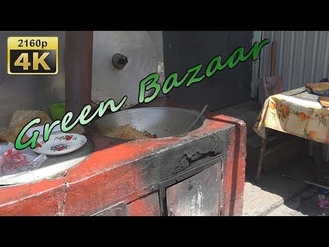 Green Bazaar in Dushanbe - Tajikistan 4K Travel Channel