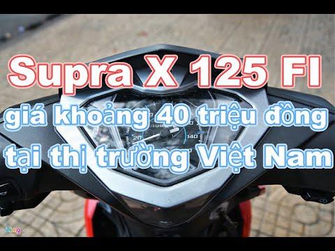 Honda Supra X 125 FI nhập khẩu về Việt Nam, giá khoảng 40 triệu đồng_Xe 360