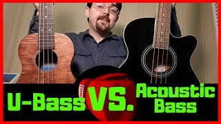 Kala U-Bass vs. Acoustic Electric Bass Guitar