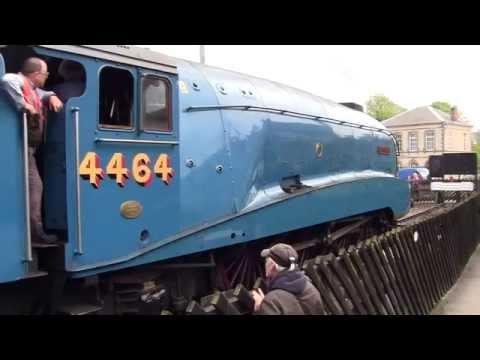 North Yorkshire Moors Railway - Spring Steam Gala 2014 - Pickering Station