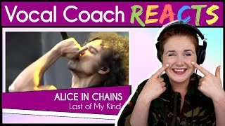Vocal Coach reacts to Alice in Chains - Last of My Kind Live (William DuVall)