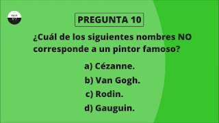 TEST DE CULTURA GENERAL BÁSICA 7