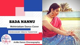 Sada Nannu   Mohiniattam Style Dance Cover   AnMe choreography