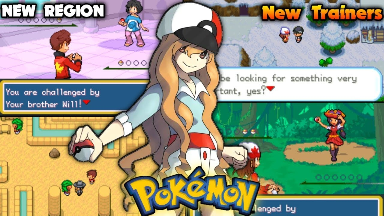 New Pokemon GBA ROM HACK With New Region & Country Balls (Catch'em All) -  YouTube