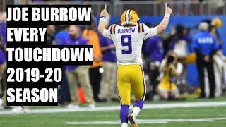 Every Joe Burrow Touchdown 2019-20 College Football Season | A Season To Remember