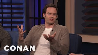 Bill Hader's Teacher Thought He Was On Drugs - CONAN on TBS