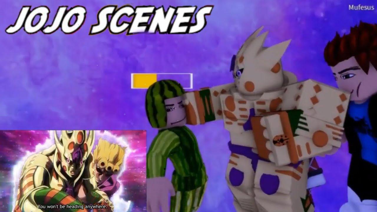 Download JoJo Cutscenes in N the jojo game Part 2