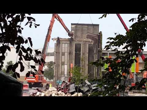 Demolition of Cambridge University Press ii