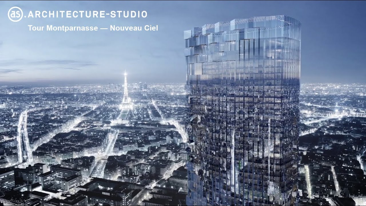 restructuration de la tour montparnasse youtube. Black Bedroom Furniture Sets. Home Design Ideas