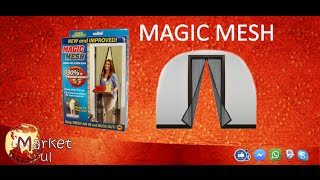 Magic Mesh Tela de mosquitos para portas