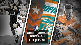 Mississauga MetroStars vs Florida Tropics