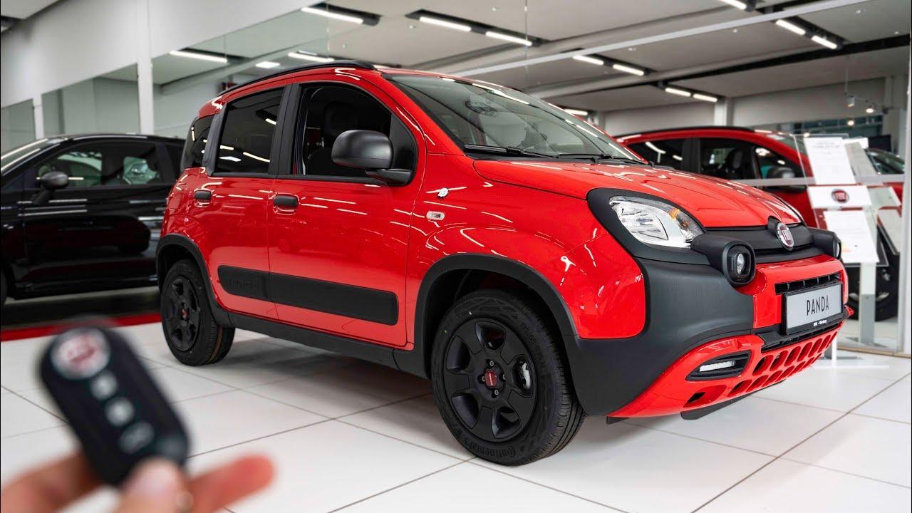2019 Fiat Panda 1 2 Citycross Waze Youtube